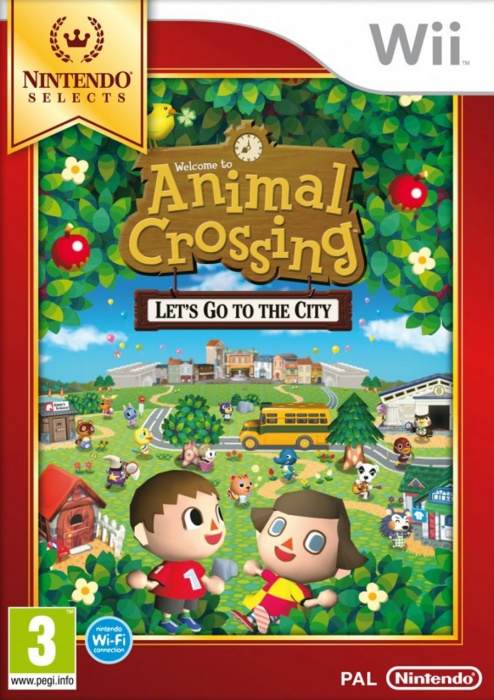 NINTENDO - Wii Animal Crossing: Lets go to the City Select