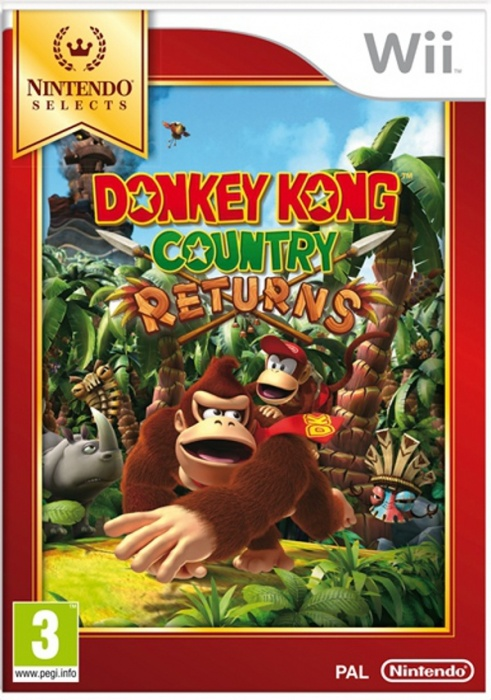 NINTENDO - Wii Donkey Kong Country Returns Select