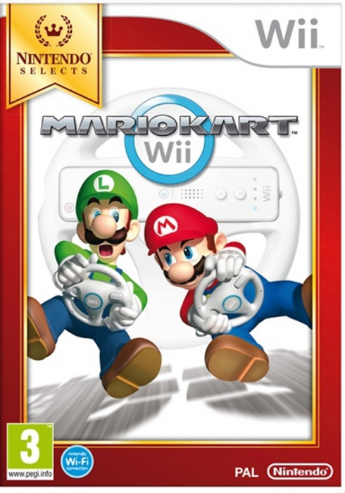 NINTENDO - Wii Mario Kart Wii Select