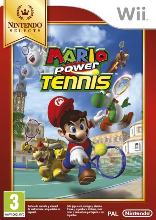 NINTENDO - Wii Mario Power Tennis Nintendo Select, hra na konzolu Nintendo Wii