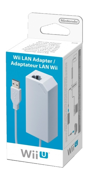 NINTENDO - Wii U LAN Adapter, Sieťový LAN adaptér pre Wii U