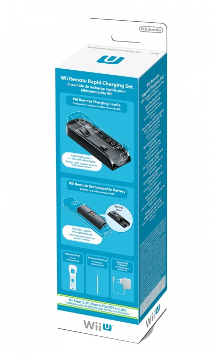 NINTENDO - Wii U Remote Rapid Charging Set