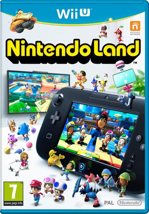 NINTENDO - WiiU Nintendo Land, hra na konzolu Wii U