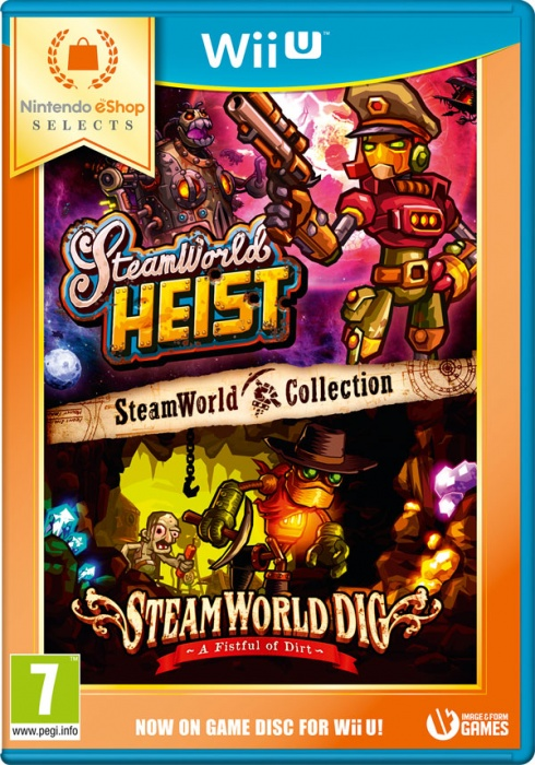 NINTENDO - WiiU Steam World Collection eShop Selects