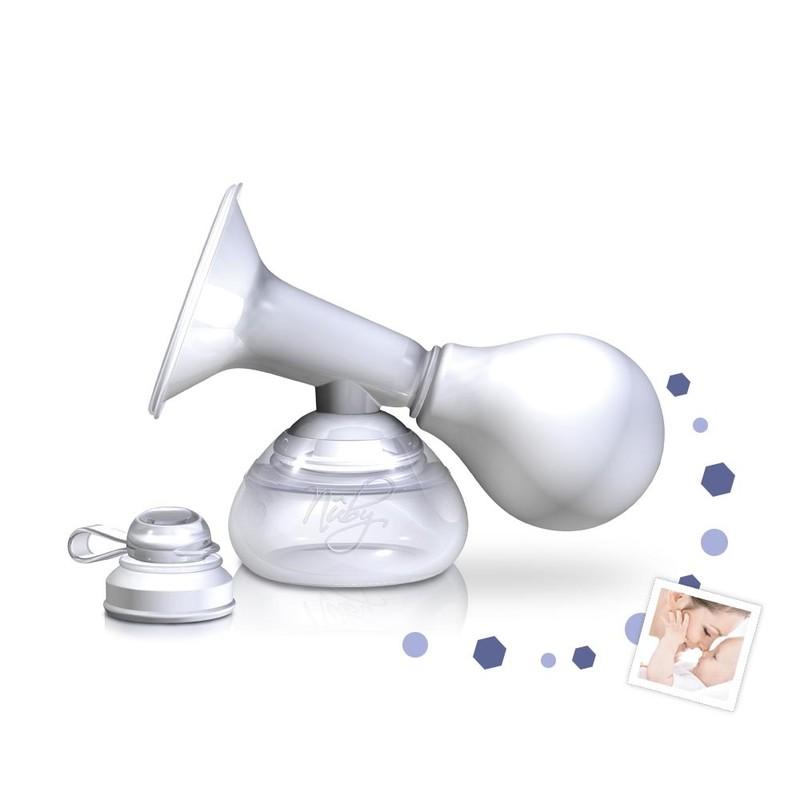 NUBY - Odsávačka materského mlieka manuálna s nádobkou 90 ml