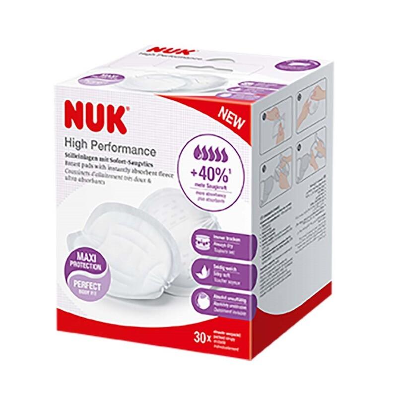 NUK - Prsné vankúšiky High Performance 30 ks
