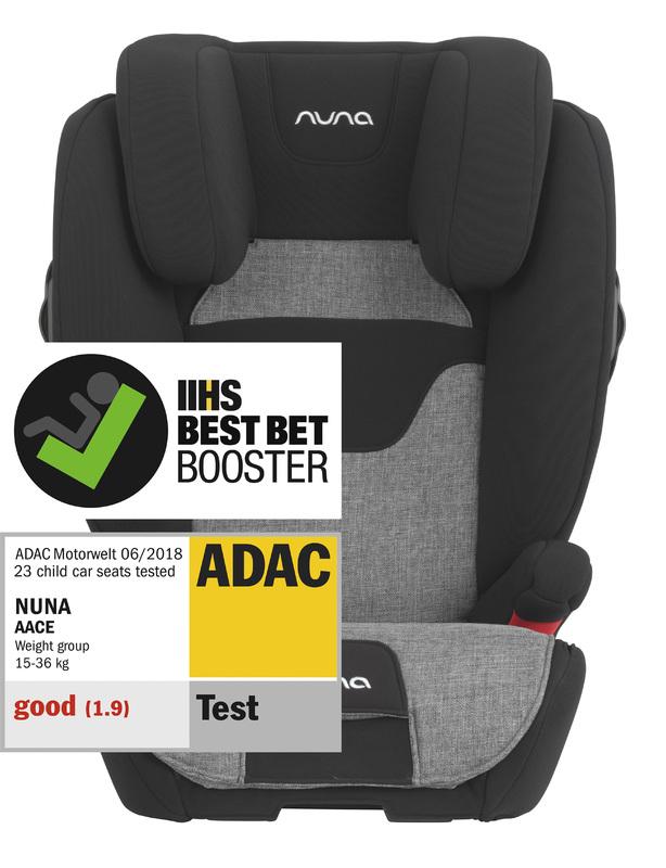 NUNA - autosedačka 15-36 kg AACE charcoal
