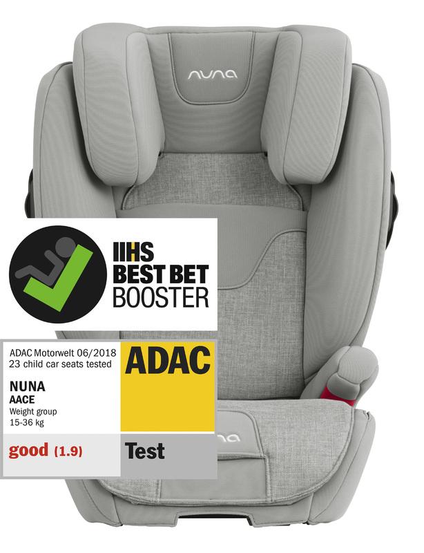 NUNA - autosedačka 15-36 kg AACE frost
