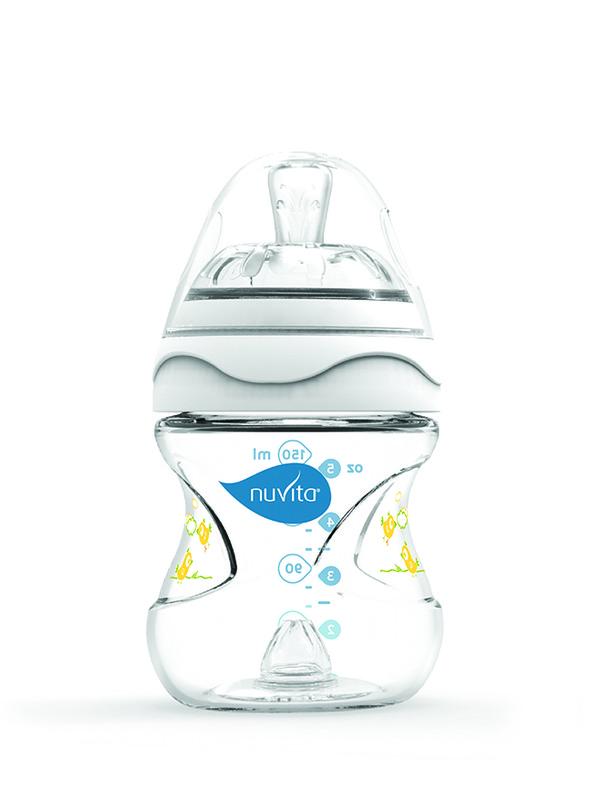 NUVITA - Fľaštička s anti-kolickým systémom 150 ml - White