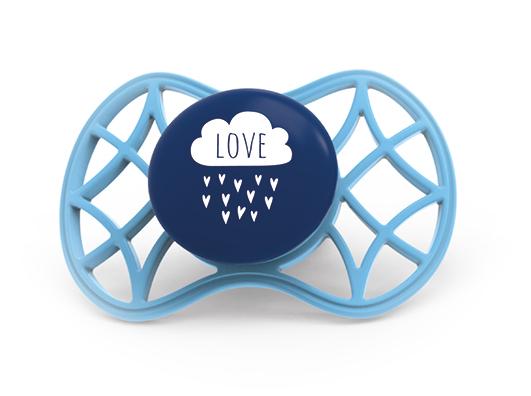 NUVITA - Fyziologický cumlík Cool 6m +, Cobalt Blue