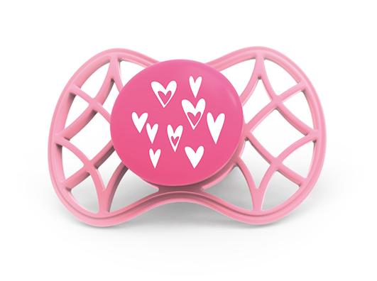 NUVITA - Fyziologický cumlík Cool 6m +, Pink Yarrow