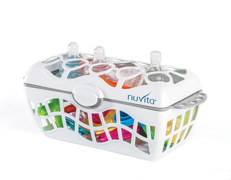 NUVITA - Košík na riad do umývačky, White