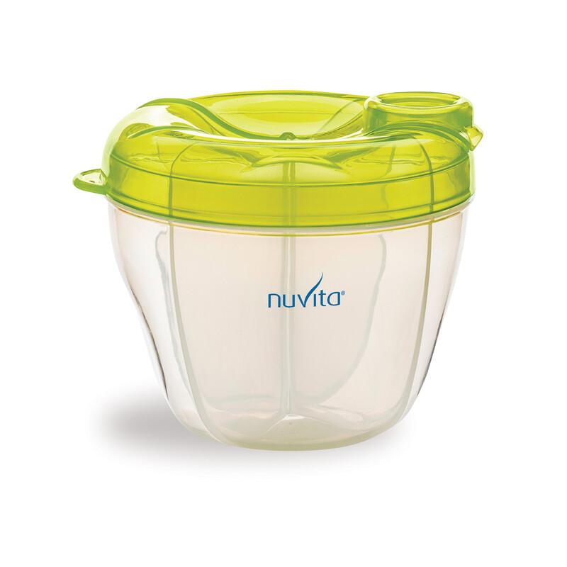 NUVITA - Nádoba a dávkovač na sušené mlieko, Pastel Green