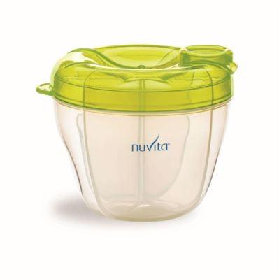 NUVITA - Nádoba na sušené mlieko - zelená