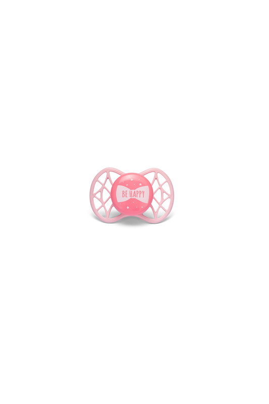 NUVITA - Ortodontický cumlík Cool 0m +, Rose quarz