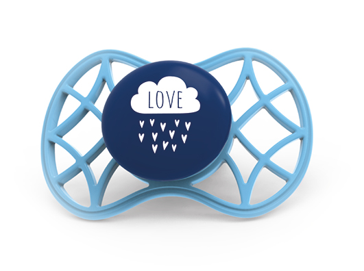 NUVITA - Ortodontický cumlík Cool 6m +, Cobalt blue