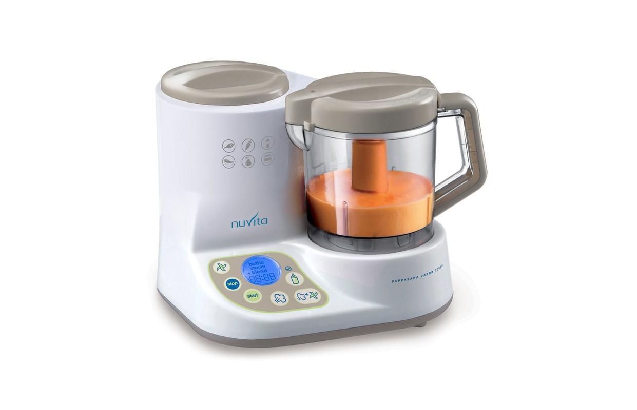 NUVITA - Robot + ohrievač fliaš + sterilizátor