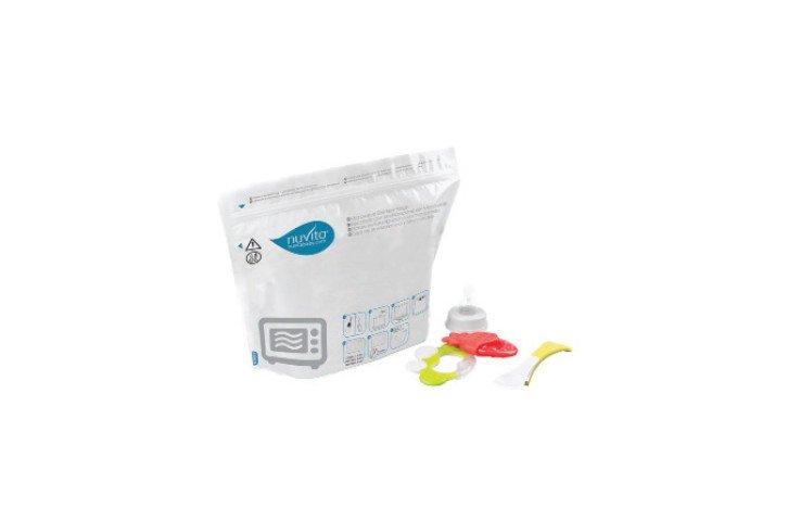 NUVITA - Sterilizačné vrecká do mikrovlnnej rúry