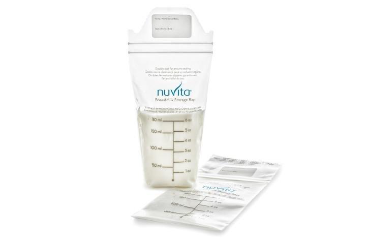 NUVITA - Vrecká na materské mlieko