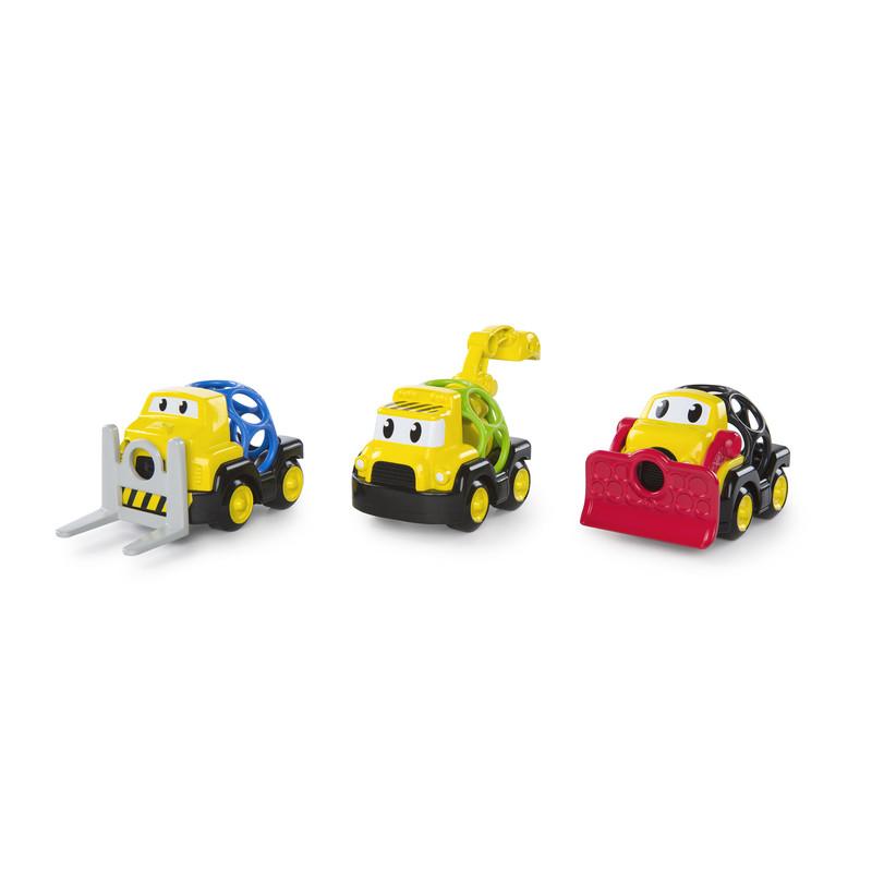 OBALL - Hračka autíčka stavebná posádka Go Grippers™ 3ks, 18m+