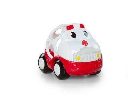 OBALL - Hračka autíčko sanitka Bruno Oball Go Grippers™ 18m+