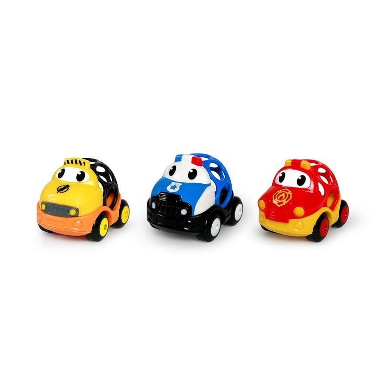 OBALL - Hračka záchranné vozidlá Dan, Ben a Zac Go Grippers 18m+
