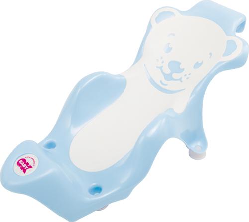 OK BABY - Lehátko do vaničky Buddy svetlo modrá 55