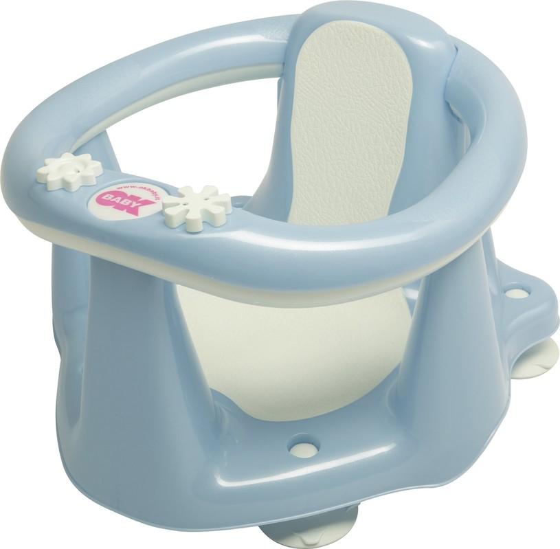 OK BABY - Sedadlo do vane Flipper Evolution svetlo modrá 55