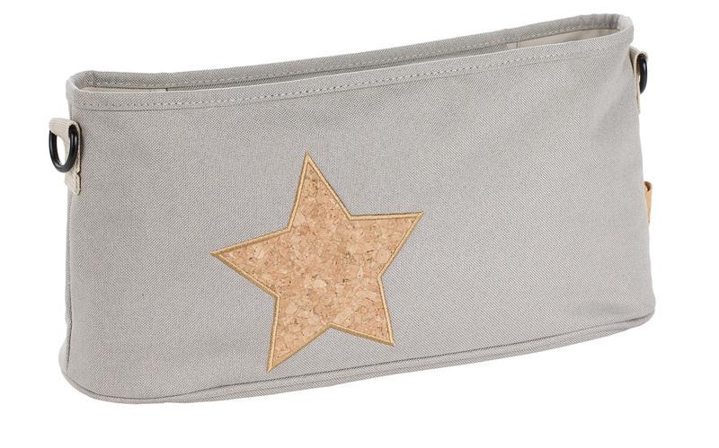 LÄSSIG - Organizér Casual Buggy Organizer - Cork Star light grey