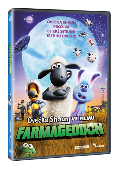 Ovečka Shaun ve filmu: Farmageddon DVD