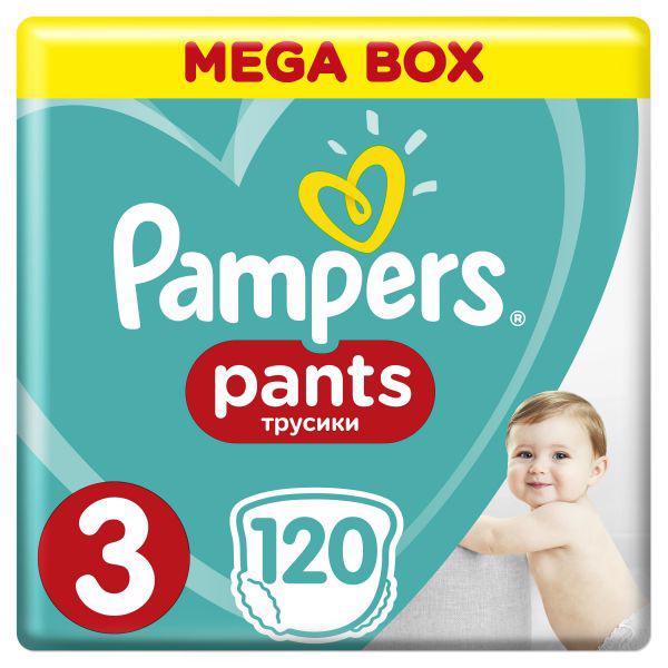 PAMPERS - Nohavičky plienkové ActivePants 3 MIDI 6-11kg 120ks