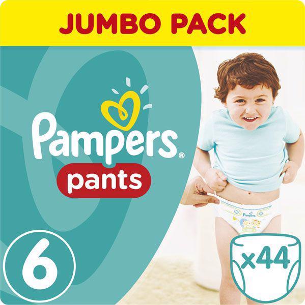 PAMPERS - Nohavičky plienkové ActivePants 6 EXTRA LARGE 16+kg 44ks