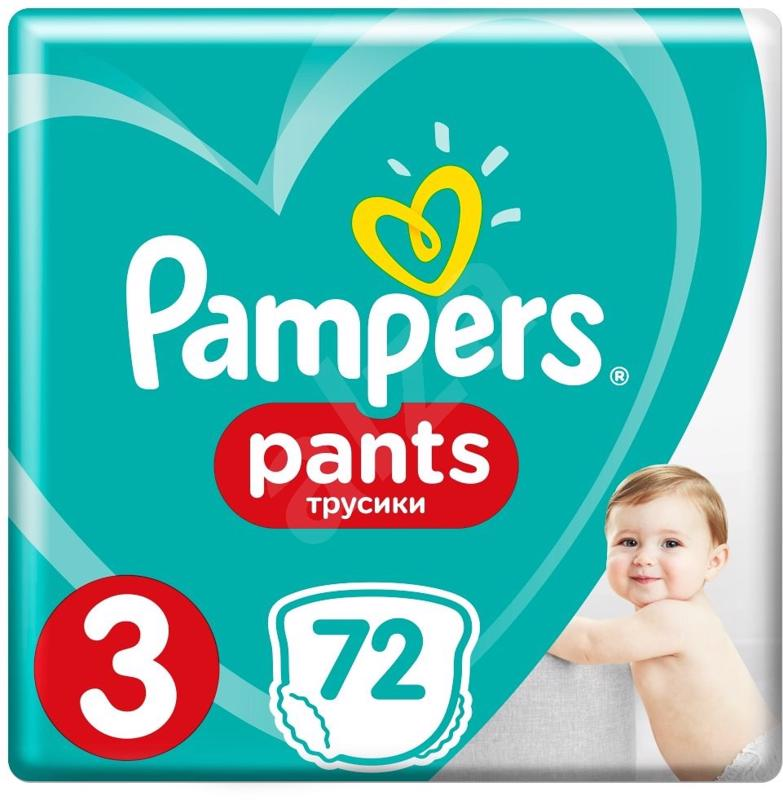 PAMPERS - Nohavičky plienkové Pants 3 MIDI 6-11kg 72ks