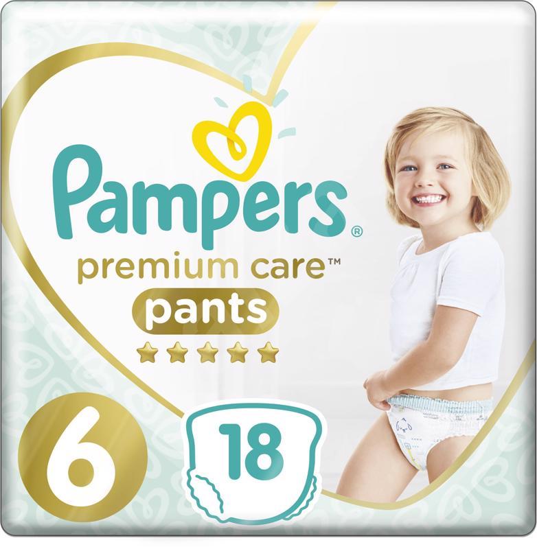 PAMPERS - Nohavičky plienkové Premium Care Pants 6 EXTRA LARGE 16kg+ 18ks