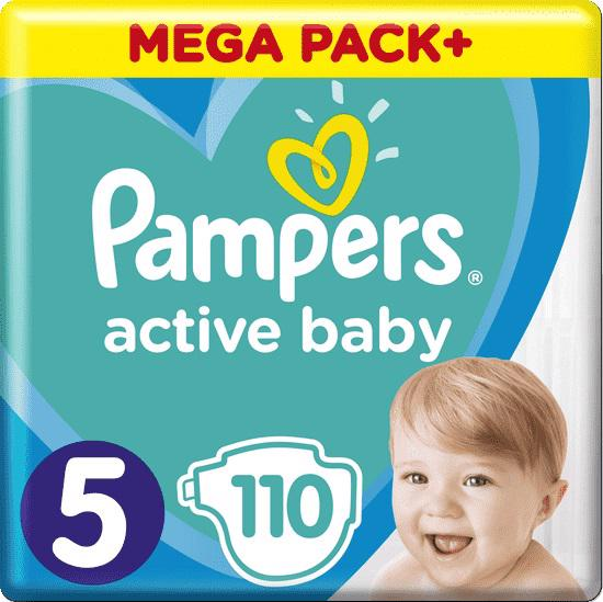 PAMPERS - Plienky Active Baby 5 JUNIOR 11-16kg 110ks