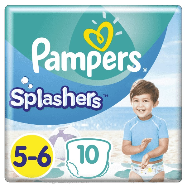 PAMPERS - Plienky do vody Splashers 14kg+ 10ks
