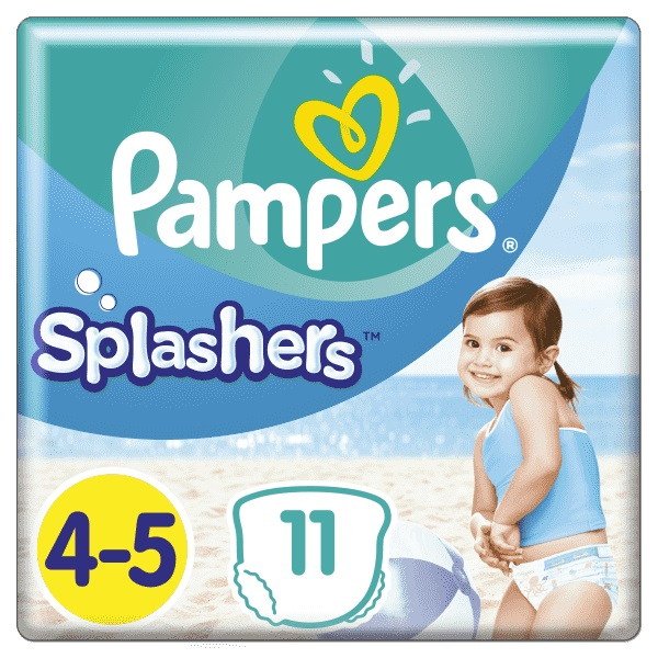 PAMPERS - Plienky do vody Splashers 9-15kg 11ks