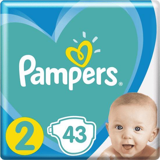 PAMPERS - Plienky New Baby-Dry 2 MINI 4-8kg 43ks