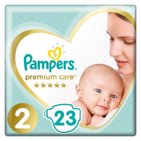 PAMPERS - Plienky Premium Care 2 MINI 4-8kg 23 ks