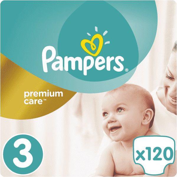 PAMPERS - Plienky Premium Care 3 MIDI 6-10 kg 120 ks