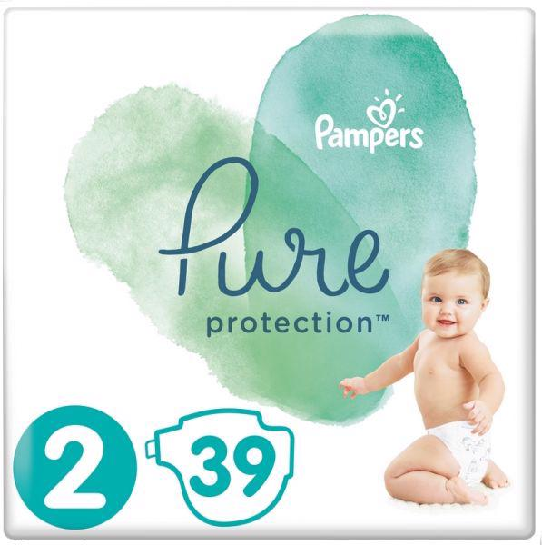 PAMPERS - Plienky Pure Protection 2 MINI 4-8kg 39ks