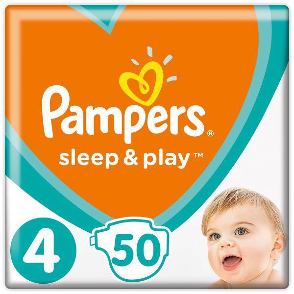 PAMPERS - Plienky Sleep&Play 4 MAXI 9-14kg 50 ks