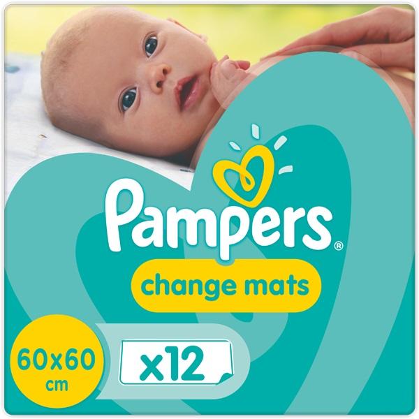 PAMPERS - Podložky prebaľovacie detské 12 ks