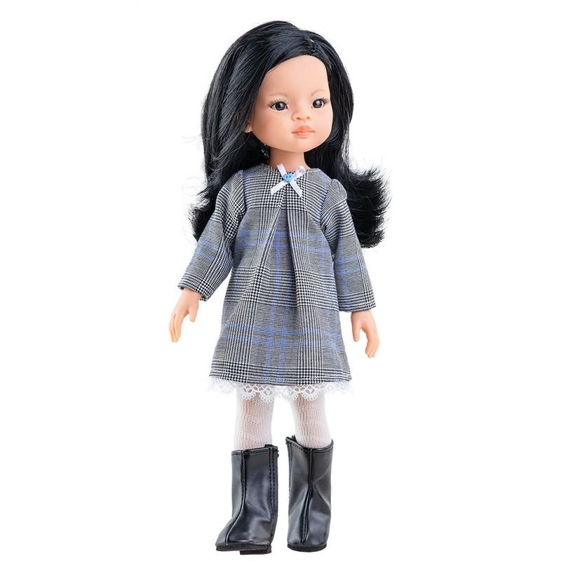 PAOLA REINA - Bábika Liu v šatách 32cm