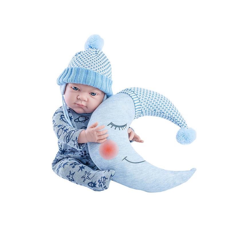 PAOLA REINA - Oblečenie pre bábätko s mesiačikom Pikolin 36cm