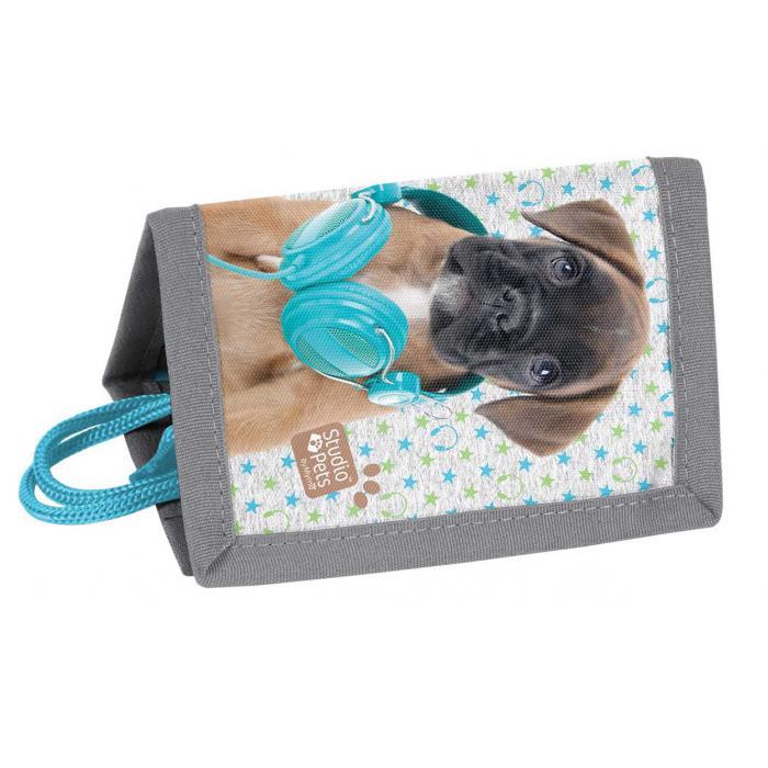 PASO - Peňaženka na krk Studio Pets pes so sluchadlami