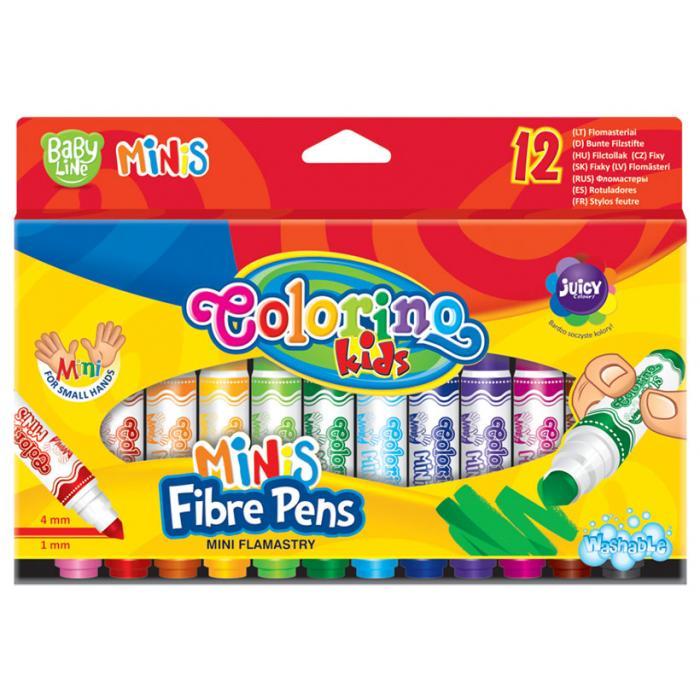 PATIO - Colorino fixy Baby line Minis 12 farieb