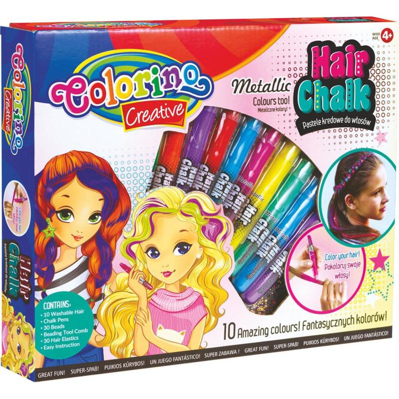 PATIO - Colorino Kriedy na vlasy 10 farieb metalické