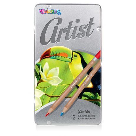 PATIO - Colorino pastelky Artist farebné 12 farieb