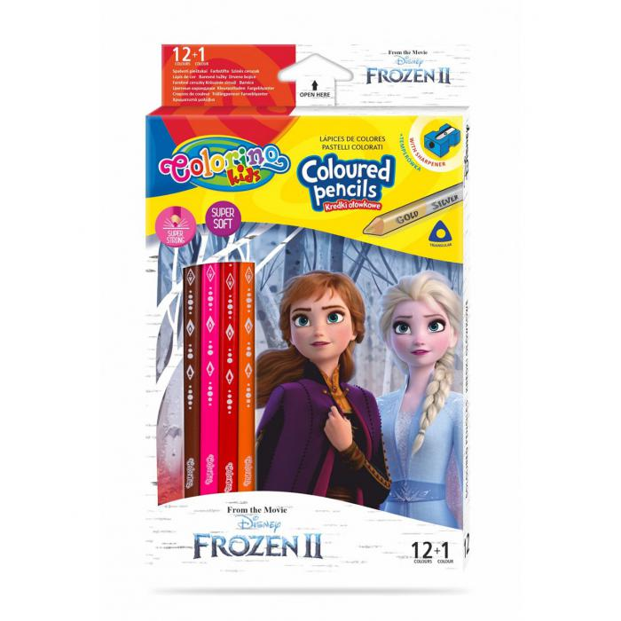 PATIO - Colorino pastelky Frozen Trio 13 farieb